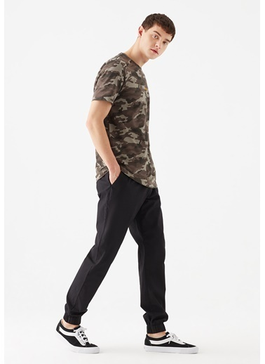 Mavi  Jogger Pantolon Siyah